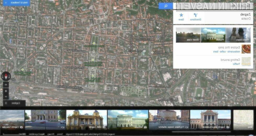 Novi Googlovi zemljevidi so zaradi vektorske grafike še lepši in uporabnejši!