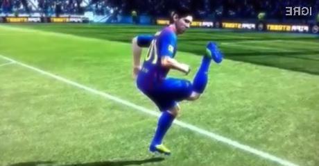 Igralci v igri FIFA se včasih gibljejo nenavadno ...
