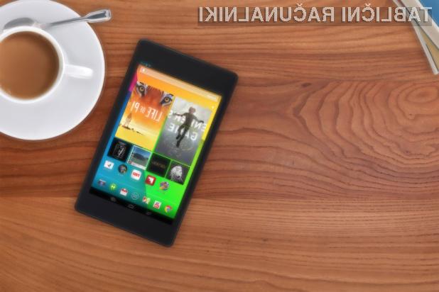 Tablični računalnik Google Nexus 7 2 bo prvi, ki ga bo mogoče polniti brezžično!