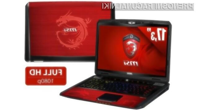 Prenosni računalnik MSI GT70 Dragon Edition 2 bo zlahka poganjal tudi grafično najzahtevnejše igre!