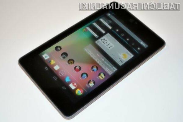 Novi Google Nexus 7 z operacijskim sistemom Android 5.0 v oktobru!