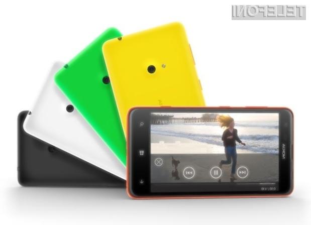 Pametni mobilni telefon Lumia 625 naj bi bil nova prodajna uspešnica podjetja Nokia!