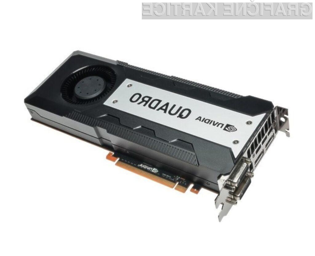 Zmogljivost grafične kartice Nvidia Quadro Q6000A bo zelo težko izkoristiti v celoti!