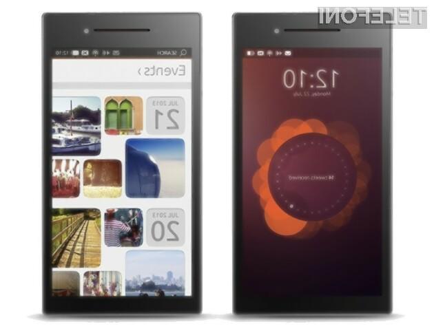 Pametni mobilni telefon Ubuntu Edge v maju!