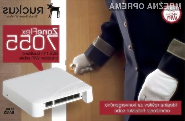 Ruckus Wireless ZoneFlex 7055 je kombinirano žično in brezžično WiFi stikalo.