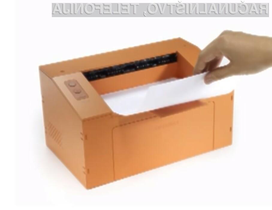 Tiskalniki Samsung z ohišjem iz kartona naj bi bili na voljo za prodajo že v prvi polovici naslednjega leta!