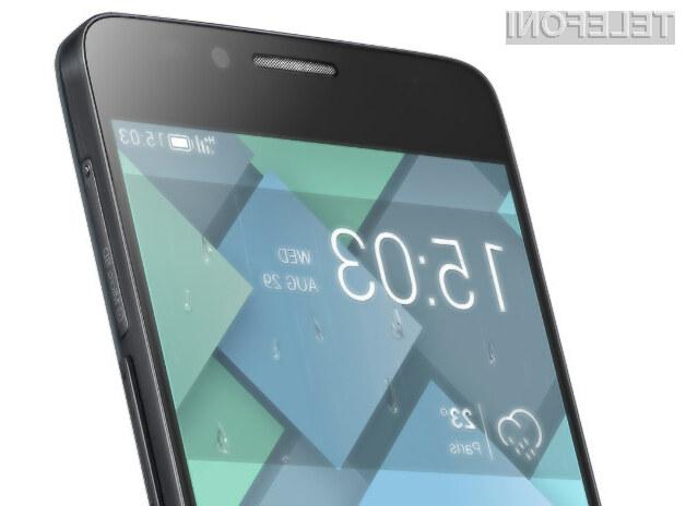 Pametni mobilni telefon Alcatel One Touch Idol X za nizko ceno ponuja veliko!