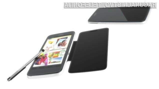 Gigantski mobilnik Alcatel One Touch Scribe Pro bo zmogljiv in poceni.