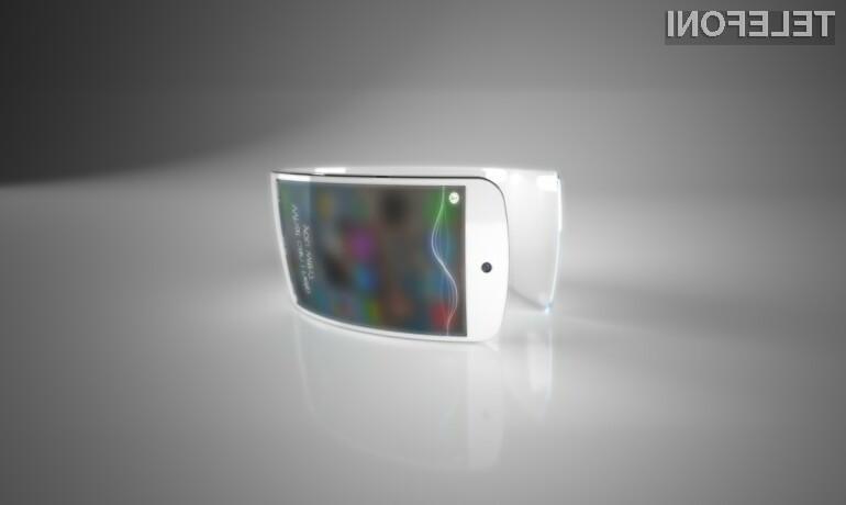 Prvi koncept pametne ročne ure Apple iWatch navdušil mnoge