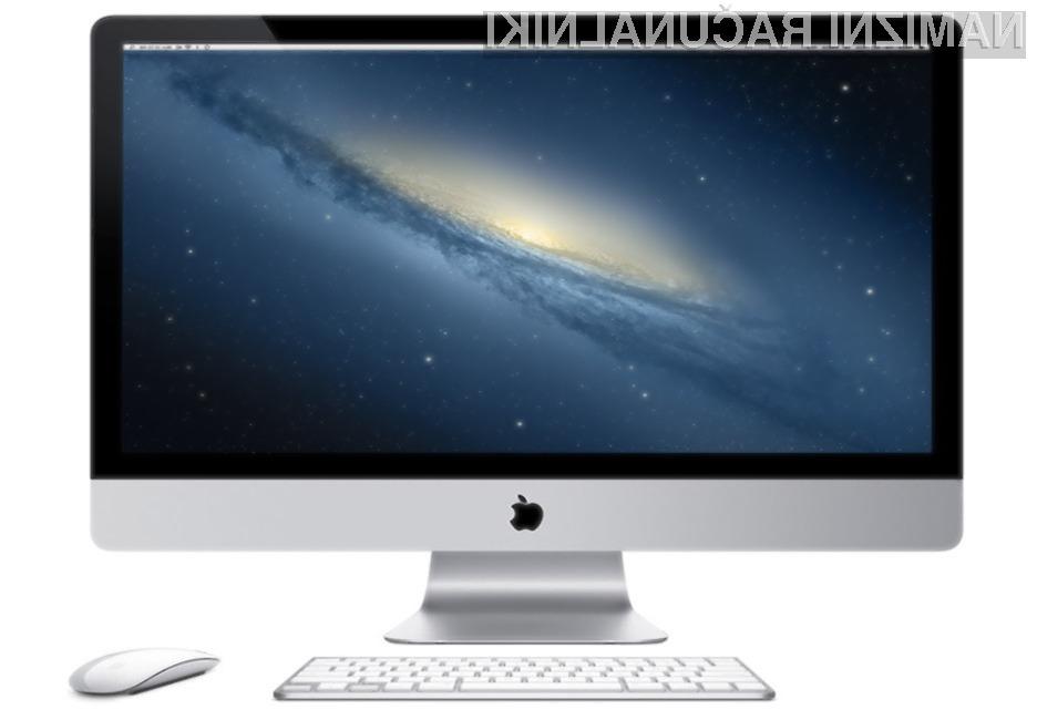 Apple je po slabih treh letih priznal obstoj težav z grafičnimi karticami, ki so bile med letoma 2011 in 2012 vgrajene v računalnike iMac.