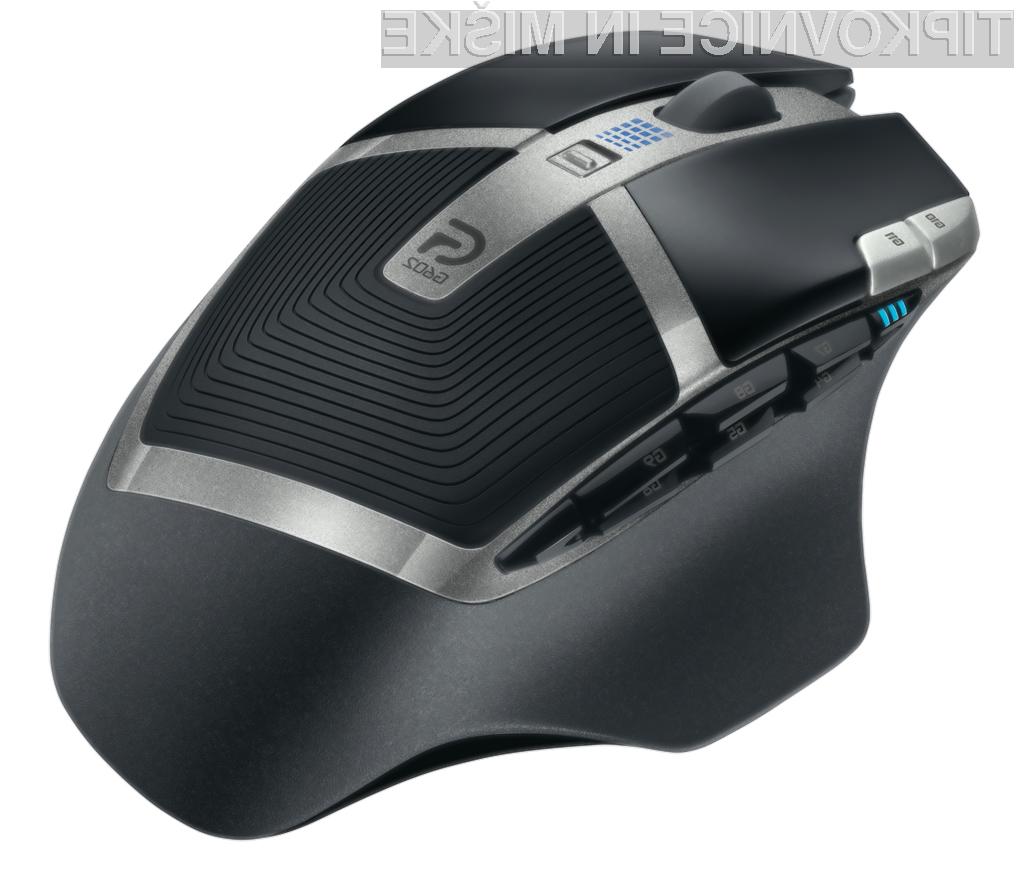 Brezžična miška Logitech G602 zdrži kar 250 ur brezžičnega igranja.