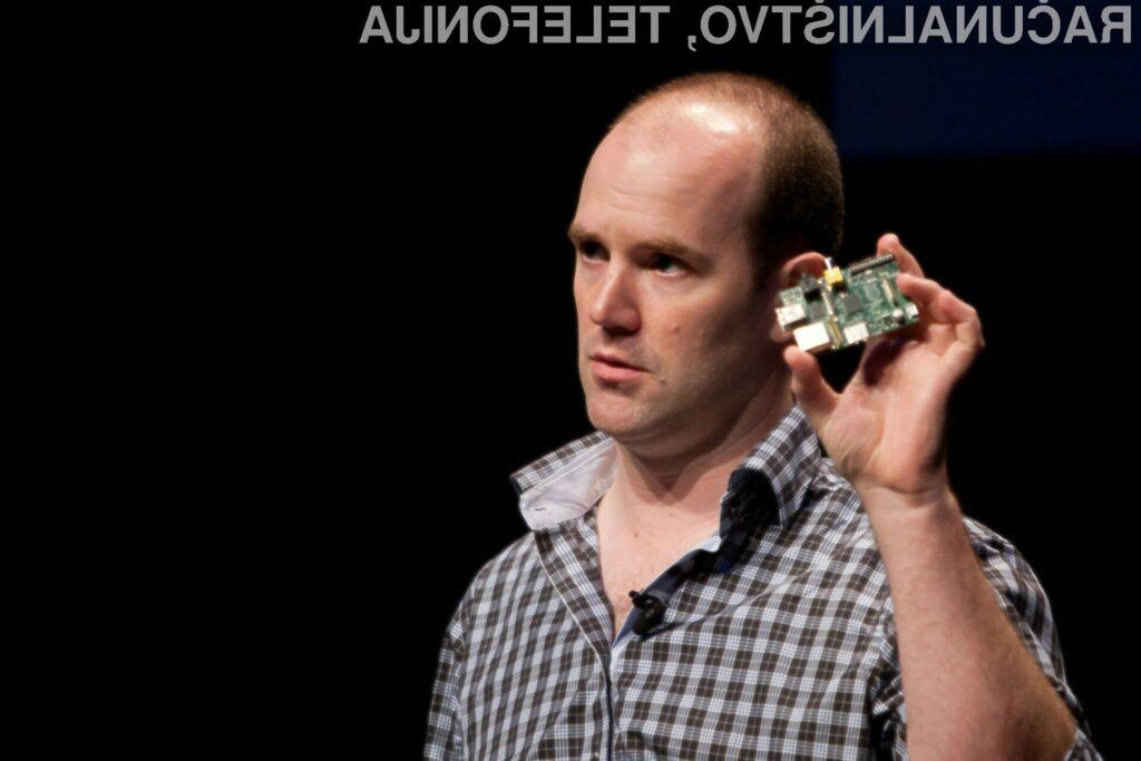 Eben Upton, izvršni direktor Rapsberry Pi.