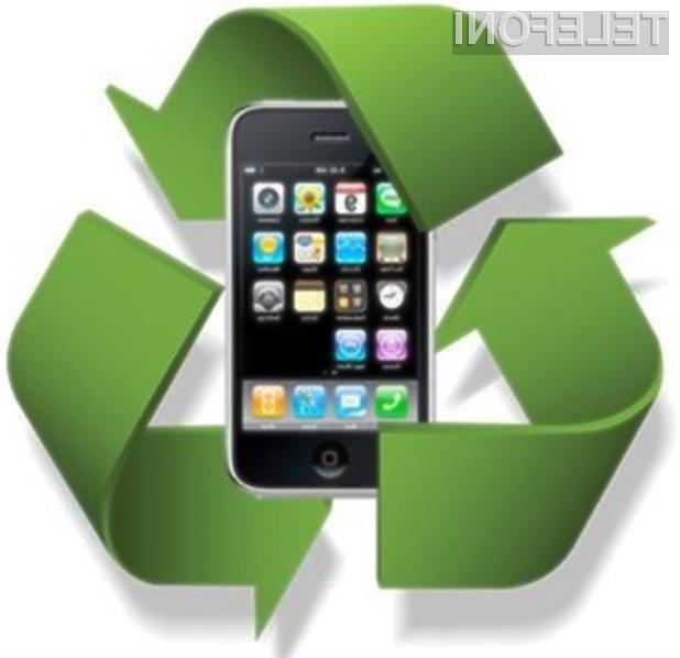 Podjetje Apple naj bi z recikliranjem starejših iPhonov pospešilo prodajo pregrešno dragih mobilnikov iPhone 5S.