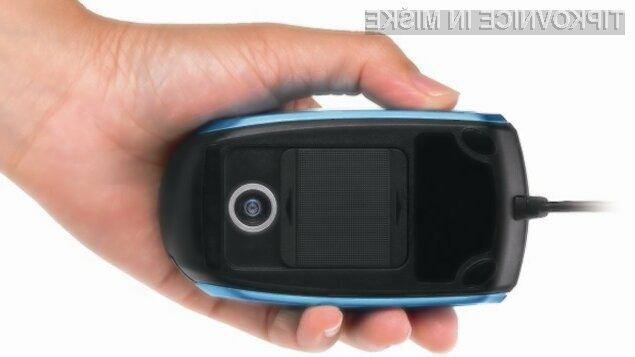 Računalniška miška in digitalni fotoaparat v enem.