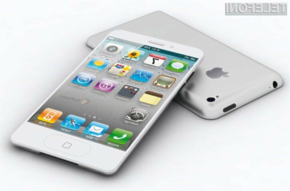 Pametni mobilni telefon iPhone 5S bo dejansko le posodobljena različica njegovega predhodnika!