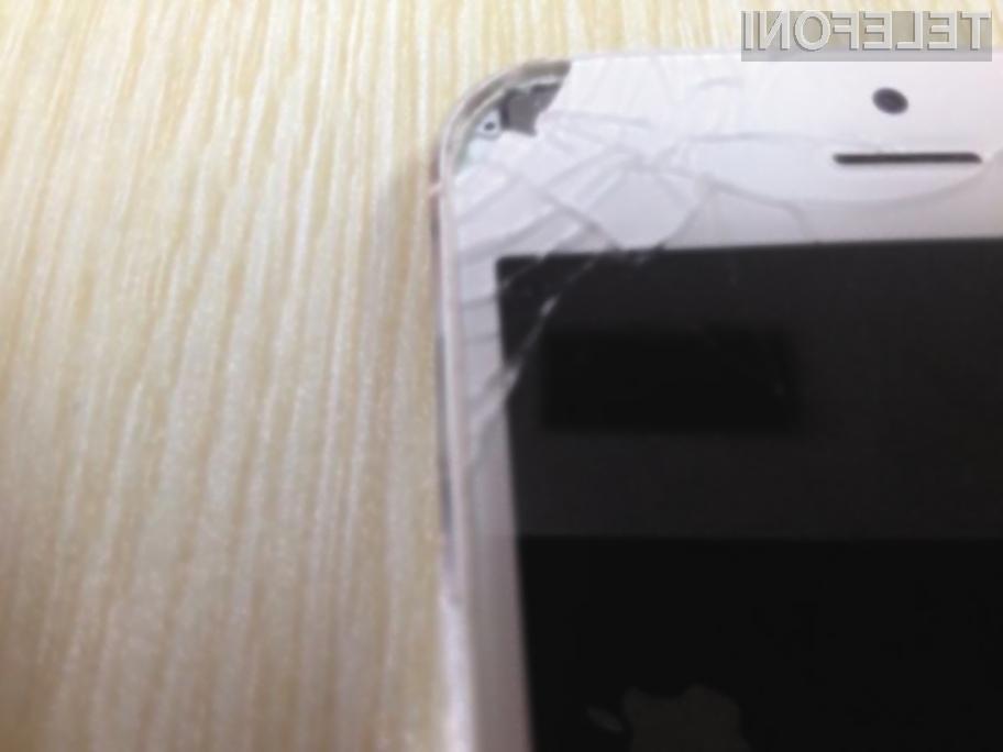 Eksplozija pametnega mobilnega telefona iPhone 5 na srečo za Kitajko ni bila usodna!