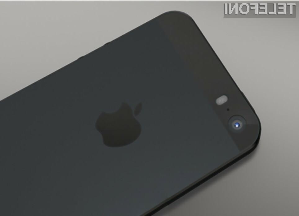 Pametni mobilni telefon iPhone 5S naj bi bil kot nalašč za zajemanje fotografij!