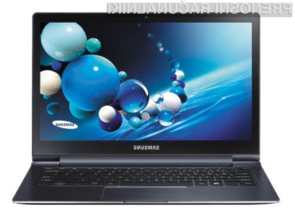 Zaslon kompaktnega prenosnega računalnika Samsung ATIV Book 9 Plus vas bo zlahka prevzel!