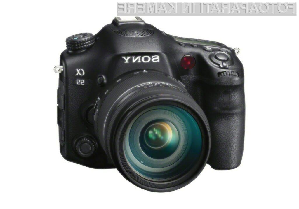 Sony SLT-A99 je prejel nagrado Evropski napredni fotoaparat leta 2013-2014.