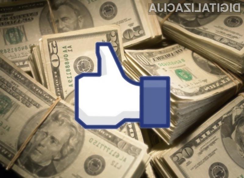 Facebook si na račun video oglasov obeta zajetno količino dodatnega denarja!