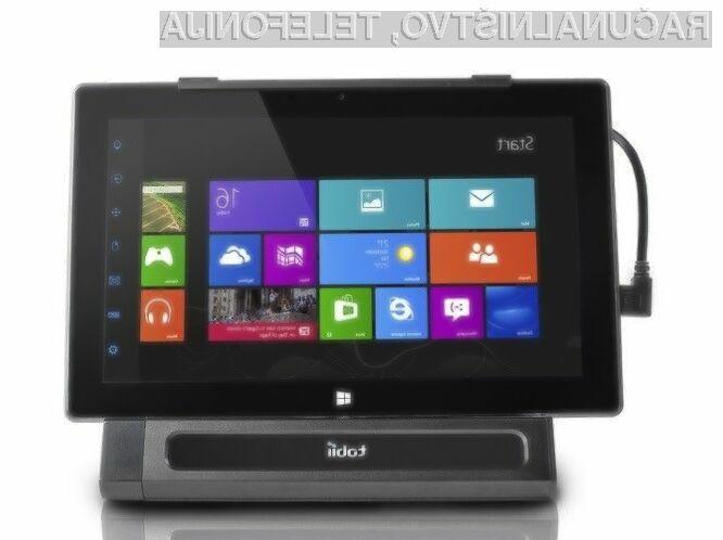 Tablični računalnik Tobii Dell Latitude 10 je prvi, ki ga je mogoče uporabljati zgolj z uporabo oči!
