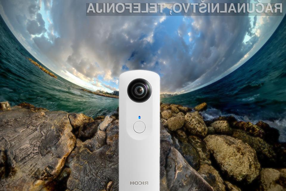 Fotoaparat Ricoh Theta bo revolucioniral svet digitalne fotografije.