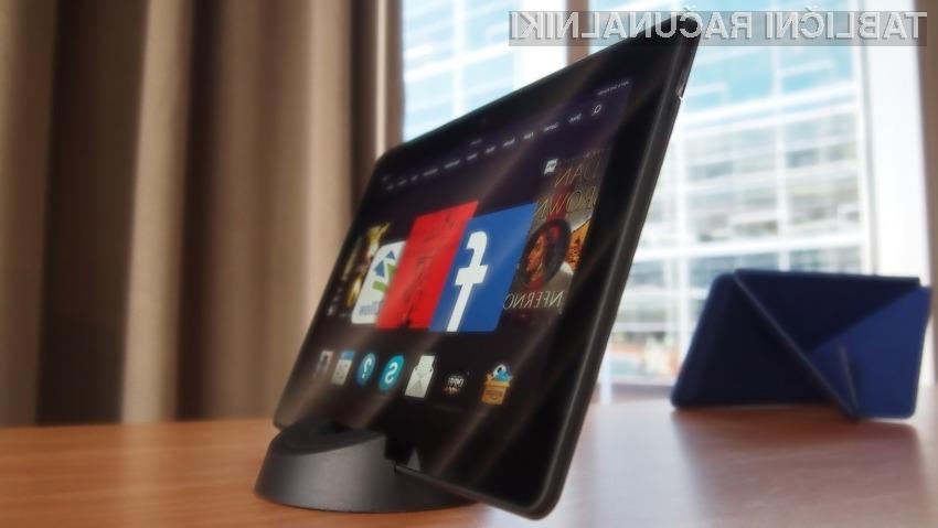 Tablični računalniki Kindle Fire HDX se lahko brez težav postavijo ob bok vrhunskim tablicam vodilnih podjetij!