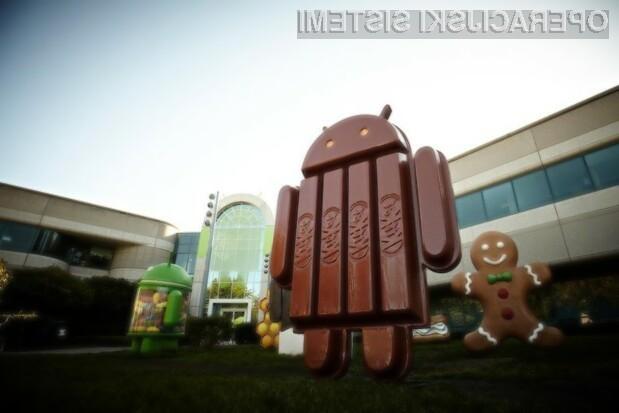 Android 4.4 KitKat naj bi bilo mogoče namestiti tudi na manj zmogljive mobilne naprave!