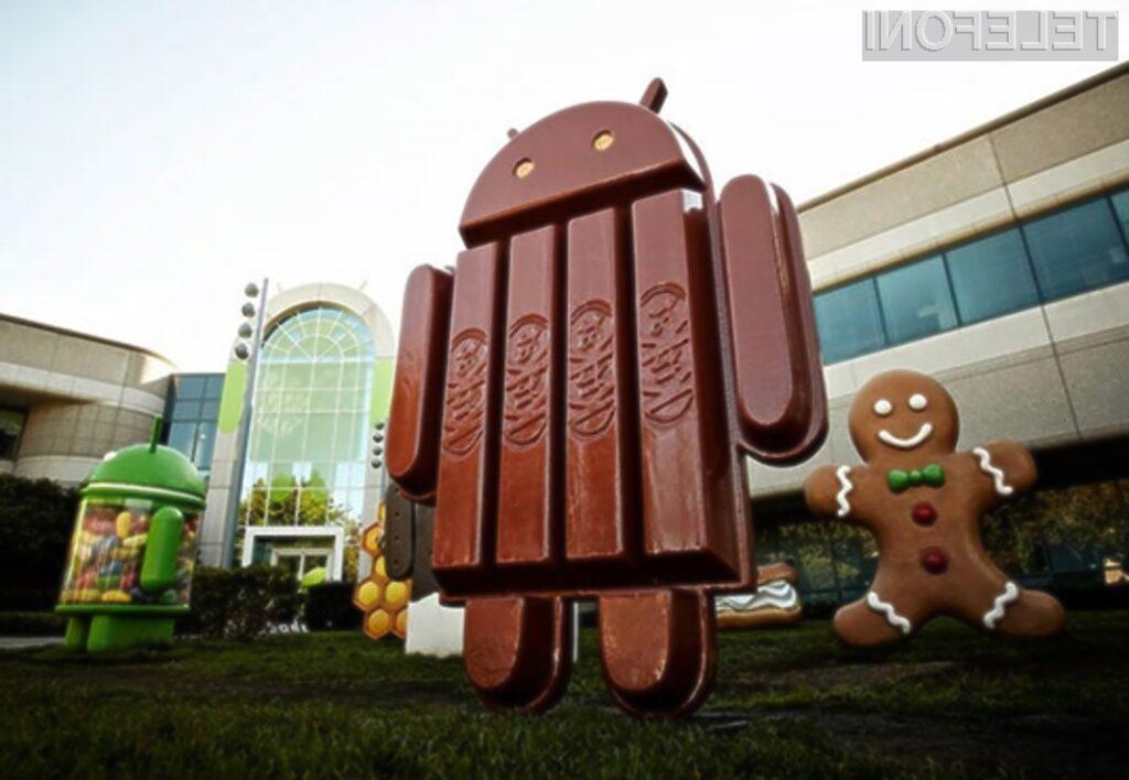 Pametni mobilni telefon Google Nexus 5 in Android 4.4 KitKat bosta prvim kupcem na voljo že v drugi polovici oktobra.