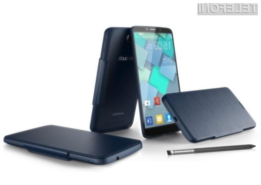 Pametni mobilni telefon Alcatel One Touch Hero se bo zlahka kosal z vrhunskimi napravami vodilnih proizvajalcev!