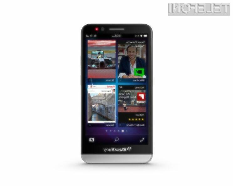 Pametni mobilni telefon BlackBerry Z30 je pisan na kožo poslovnežem!