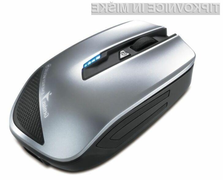 Računalniška miška za polnjenje mobilnih naprav!
