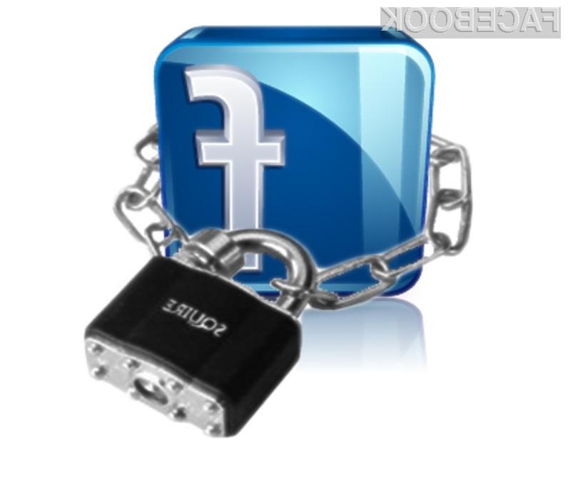 Če je le mogoče, podjetju Facebook zaupajte čim manj vaših osebnih podatkov!