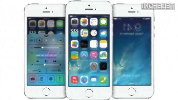 Pametni mobilni telefon Apple iPhone 5S je prevzel lovoriko najzmogljivejšega na modrem planetu!