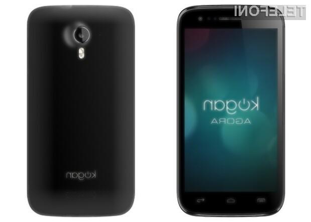 Pametni mobilni telefon Kogan Agora ponuja zmogljivo strojna opremo za izjemno nizko ceno!