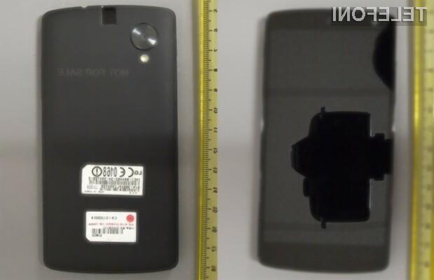 Supermobilnik Google Nexus 5 bo kot všečen na pogled!