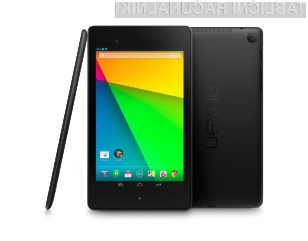 Tablični računalnik Google Nexus 7 je bogatejši za podporo hitremu mobilnemu omrežju 4G/LTE.