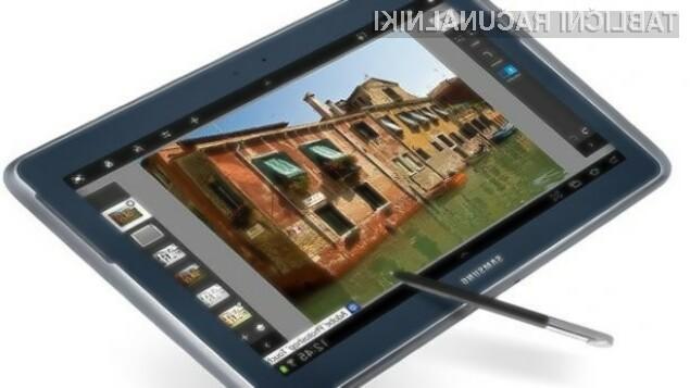 Tablični računalnik Galaxy Note 12.2 bo zlahka prepričal tudi najzahtevnejše uporabnike!