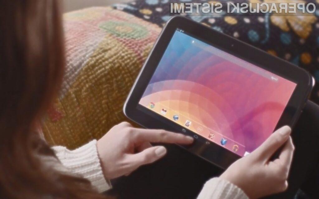 Tablični računalniki Android so med uporabniki iz dneva v dan bolj priljubljeni!