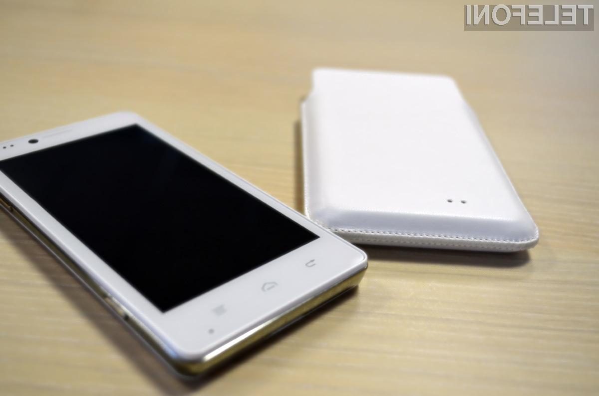 Prestigio MultiPhone 5430 je zmogljiv pametni telefon.