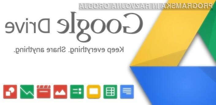 Google Drive omogoča nakup dodatnega oblačnega prostora po izjemno nizkih cenah!