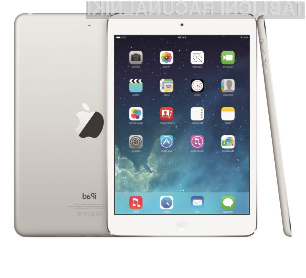 Tablici Apple iPad Air in iPad mini z zaslonom Retina!