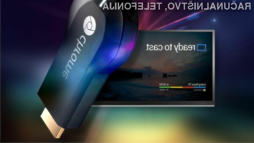 S pomočjo vmesnika Google Chromecast je prikazovanje vsebin iz mobilnih naprav Android na domači televizor nadvse priročno opravilo.