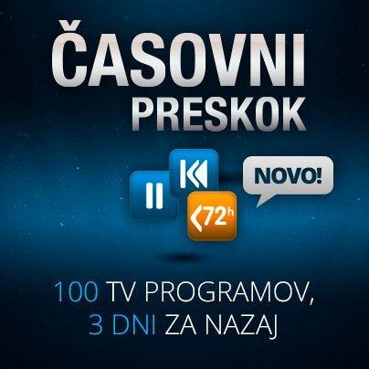 Prenovljena Amis Televizija prinaša časovni preskok.
