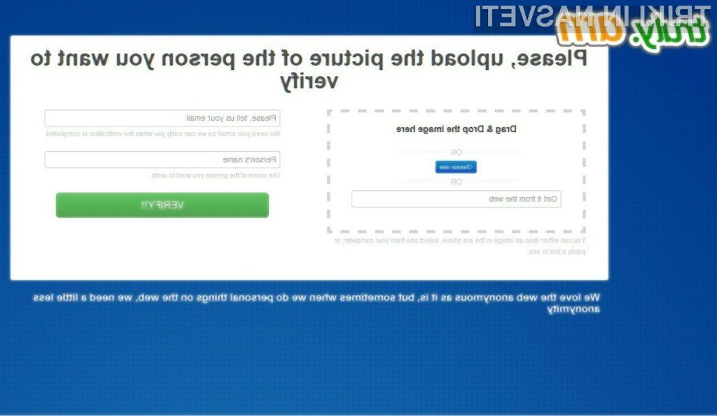 S pomočjo spletne storitve Truly.am naj bi lažje prepoznali spletne prevarante.