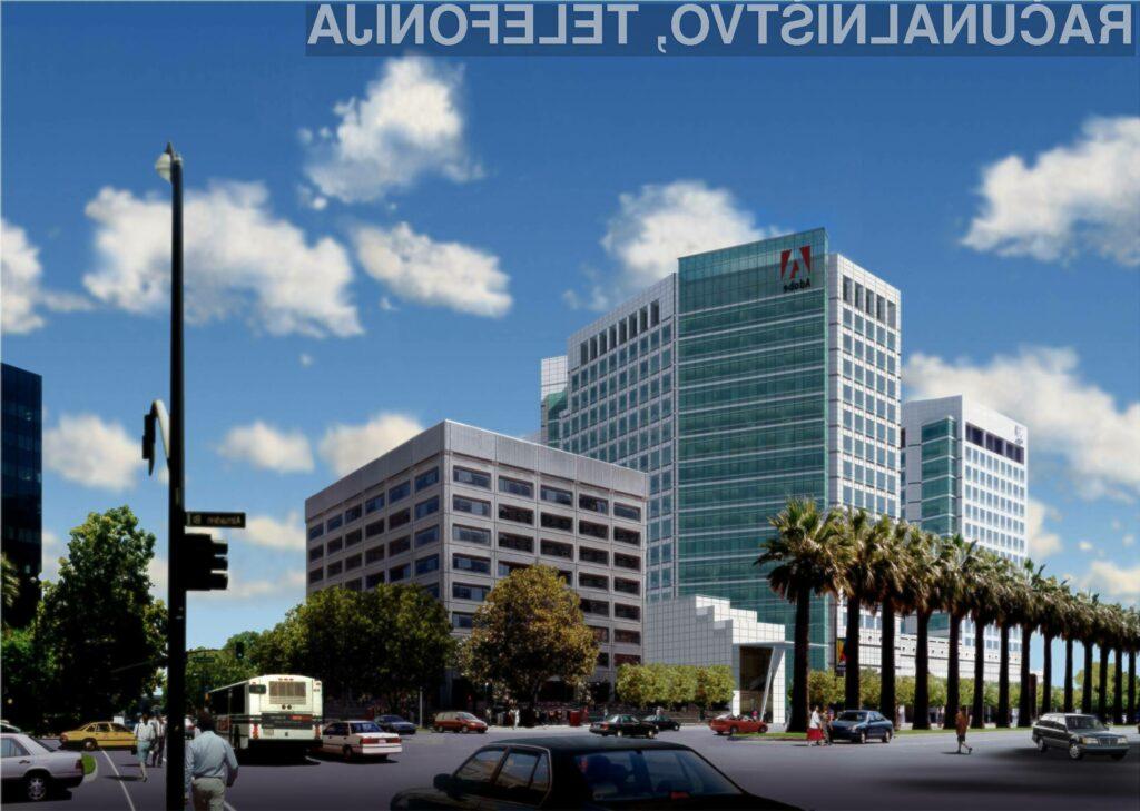 Varnostni sistem podjetja Adobe je klonil pred spretnimi hekerji!