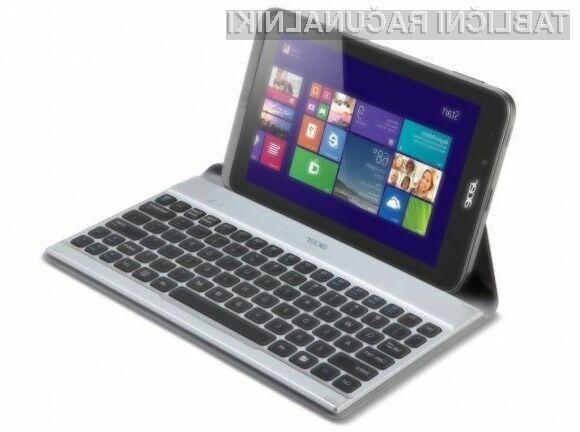 Tablični računalnik Acer Iconia W4 z operacijskim sistemom Windows 8.1 bo zlahka prepričal tako uporabnike kot strokovnjake.