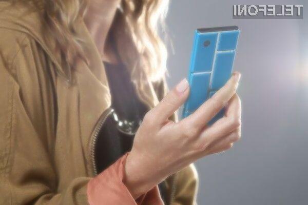 Modularni mobilnik Motorola Ara se vam bo zlahka prikupil!