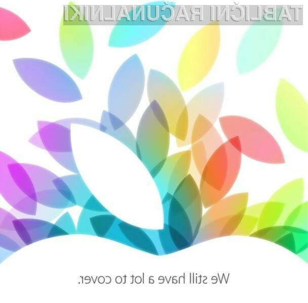 Podjetje Apple naj bi 22. oktobra prestavilo težko pričakovani tablici iPad 5 in iPad Mini 2!