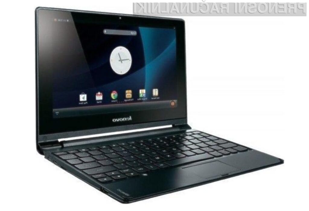 Lenovo IdeaPad A10 združuje prednosti kompaktnega prenosnika in mobilnega operacijskega sistema Android.
